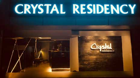 Hotel Crystal Residency
