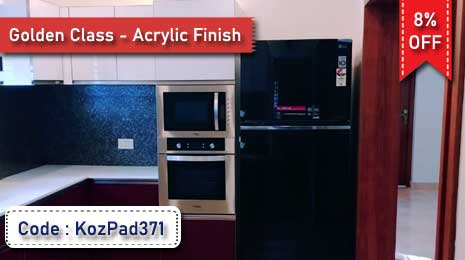 Flat 8% Off on Labor Charge for Golden Class - Acrylic Finish