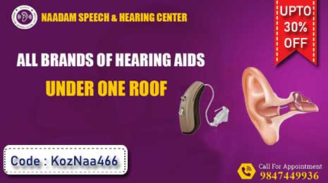 Upto 30% Discount on All Brands of Hearing Aids