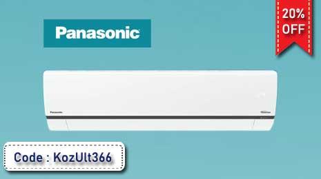 Flat 20% Off on Panasonic AC