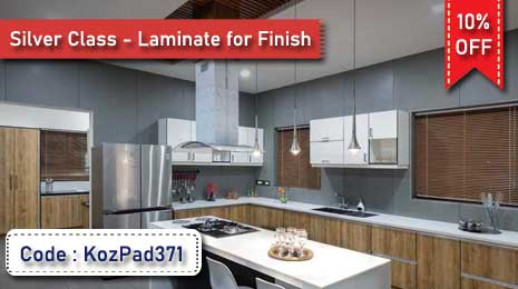 Flat 10% Off on Labor Charge for Silver Class - Laminate for  Finish